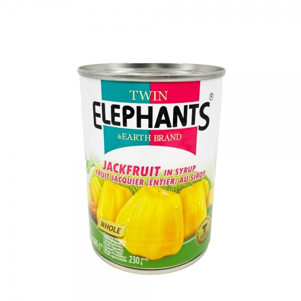 Jackfrucht in Sirup Twin Elephants & Earth 565g