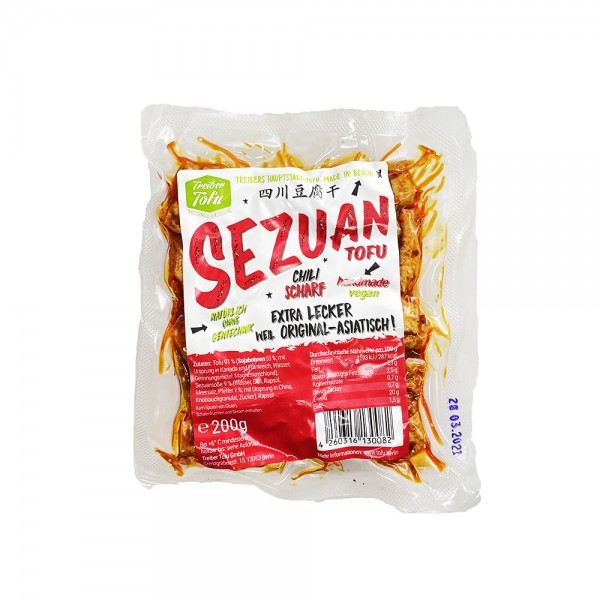 Sezuan Tofu Treiber Tofu 200g