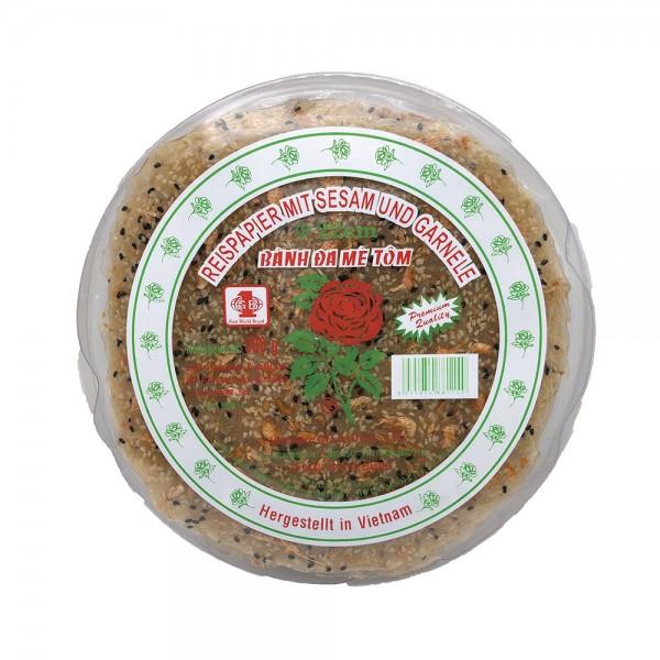 Reispapier Cracker mit Garnelen und Sesam Gia Bao 300g