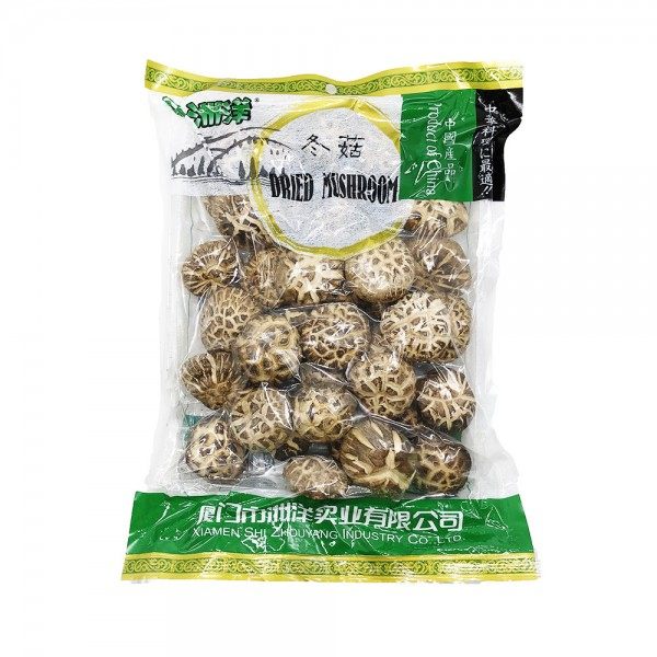 Shiitake Pilze getrocknet (Blumenform) Xiamen Shi Zhouyang 200g