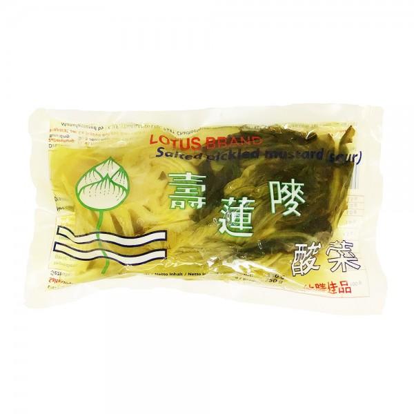 Eingelegter Senfkohl sauer Lotus 350g