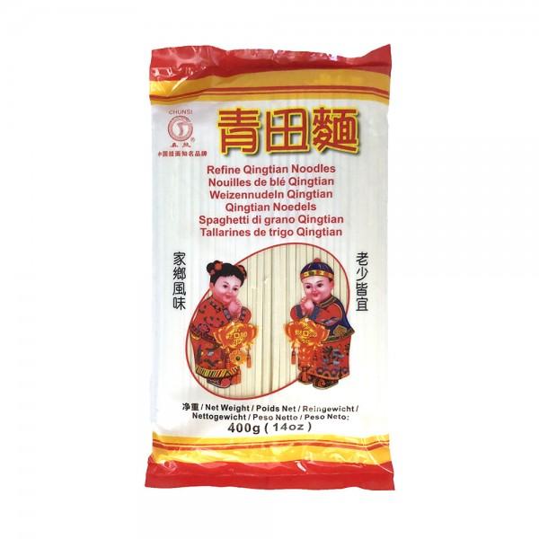 Weizennudeln Qingtian Chunsi 400g