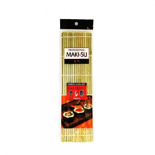 Sushi Rollmatte aus Bambus 27x 27cm