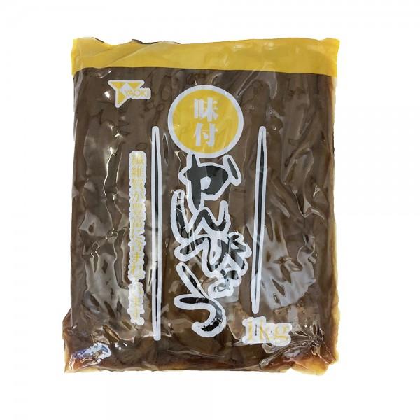 Kürbisstreifen eingelegt für Sushi (Kanpyo) Yaoki 1kg