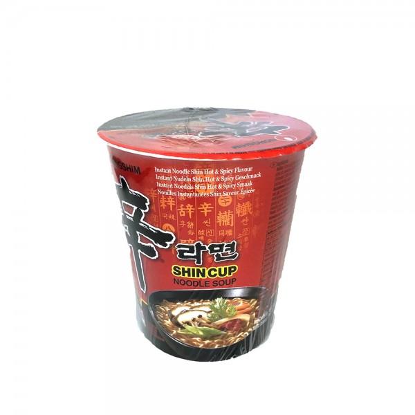 Shin Ramyun Nudelsuppe Cup Nongshim 68g