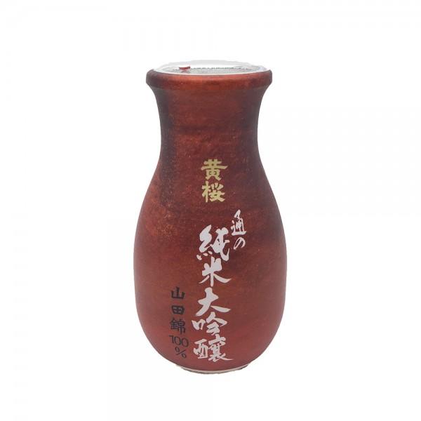 Japanischer Sake Junmai Daiginjo Yamadanishiki Kizakura 180ml