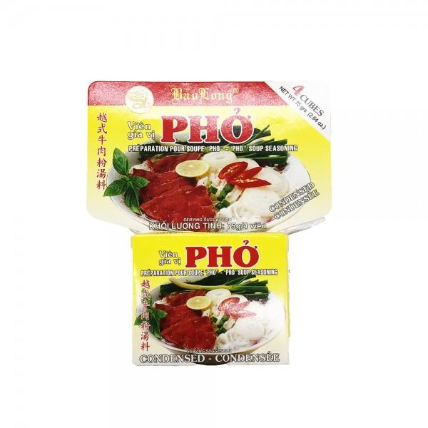 "Brühwürfel für ""Pho Bo"" Bao Long 75g"