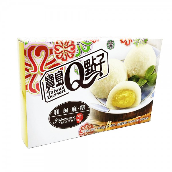 Durian Mochi Reiskuchen Taiwan Dessert 210g