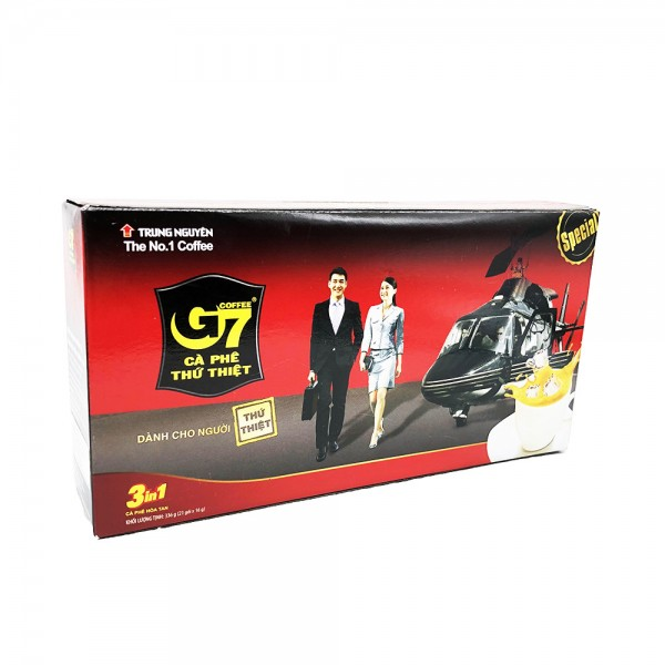 G7 Instant Kaffee 3 in 1 Trung Nguyen 336g (21x16g)