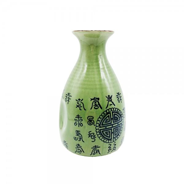 Sake Flasche grün Celadon