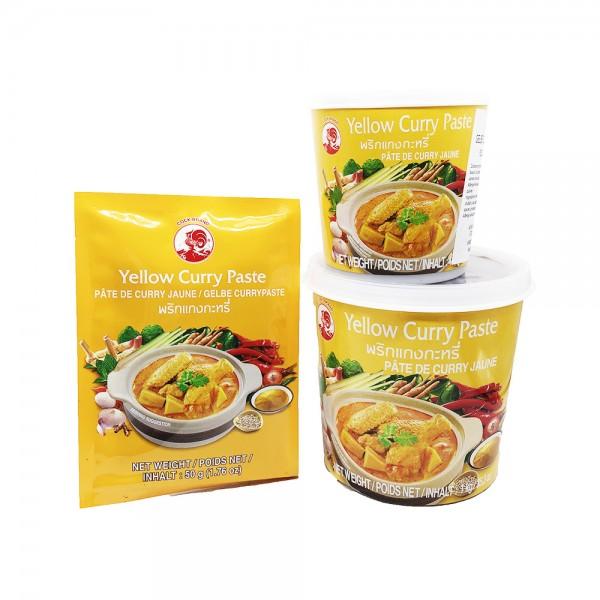 Gelbe Currypaste Cock