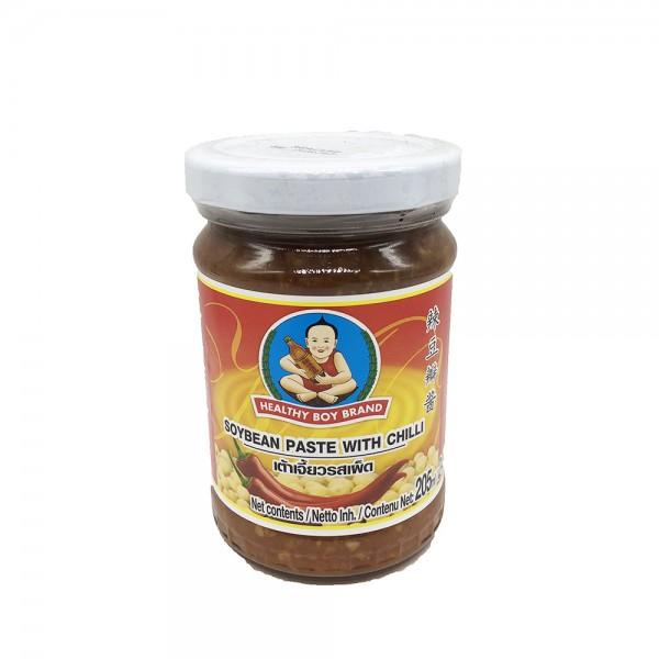 Sojabohnenpaste Chili Healthy Boy 245g