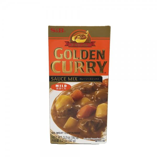 Golden Curry Sauce Mix mild S&B 92g