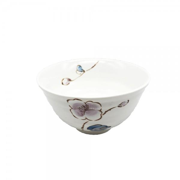 Keramik Reisschüssel Pflaumenblüten (Ø11,5cm)