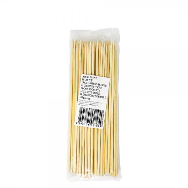 Bambusspieße 18cm (100 Stück)