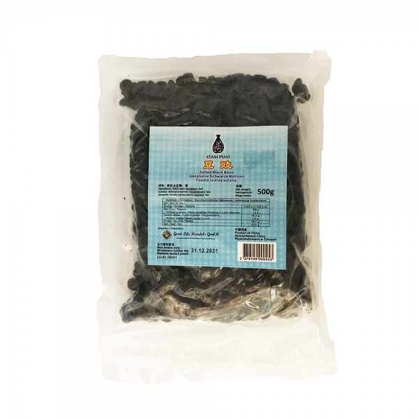 Schwarze Bohnen fermentiert Asiana 500g