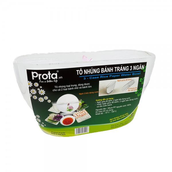 Reispapier Behälter zum Einweichen