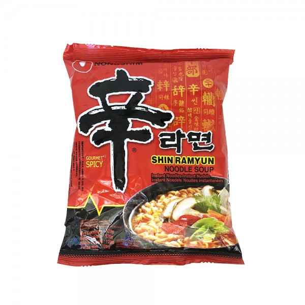 Shin Ramyun Nudelsuppe spicy Nongshim 120g