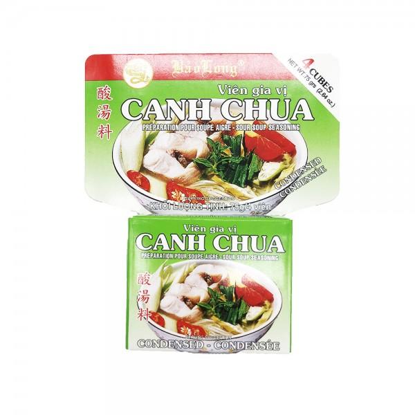 """Brühwürfel für """"Canh Chua"""" Bao Long 75g"""