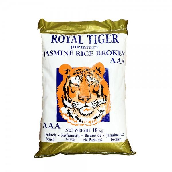Jasmin Bruchreis AAA Qualität Royal Tiger 18kg