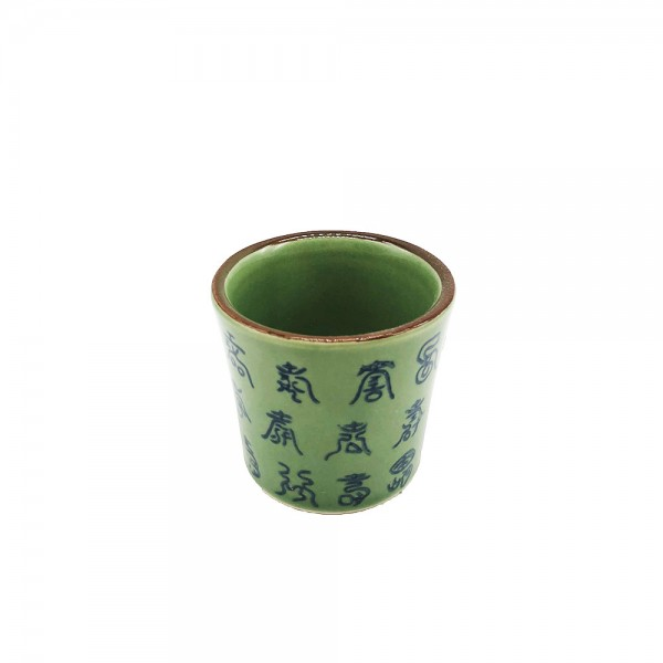 Teetasse grün Celadon