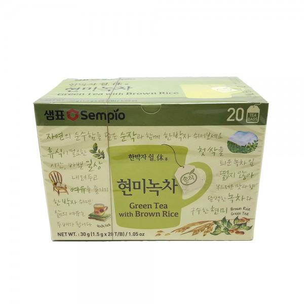 Grüner Tee mit braunem Reis geröstet Sempio 30g (20x1,5g)
