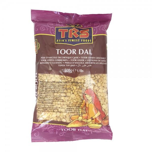 Toorlinsen geschält (Toor Dal) TRS 500g