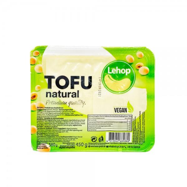 Natur Tofu Lehop 580g