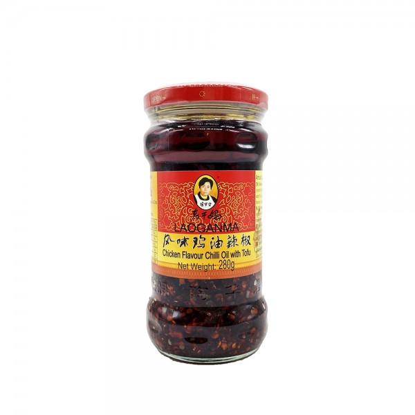 Chiliöl mit Tofu Huhngeschmack Lao Gan Ma 280g