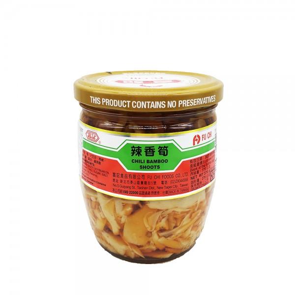Bambussprossen in Chilimarinade Fu Chi 370g [MHD 01.10.21]