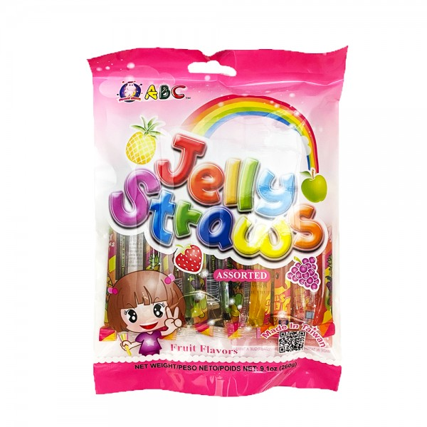 Jelly Straws ABC 260g
