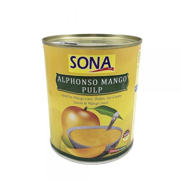 Alphonso Mangopüree Sona 850g