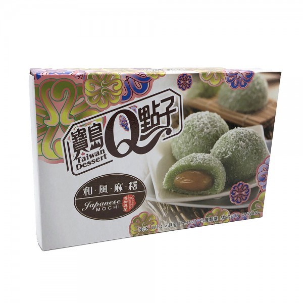 Kokos Pandan Mochi Reiskuchen Taiwan Dessert 210g