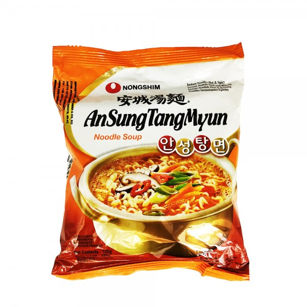 Ansungtangmyun Nudelsuppe Nongshim 125g
