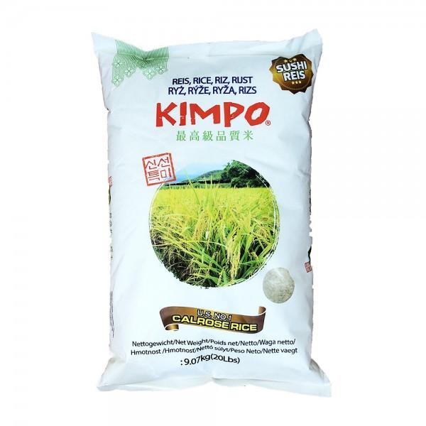 Calrose Sushi Reis Kimpo 9,07kg
