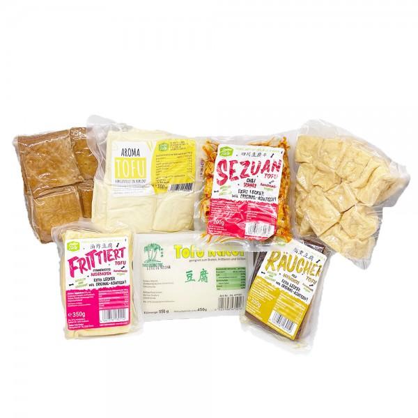 Treiber Tofu Box mit 7 verschiedenen Sorten