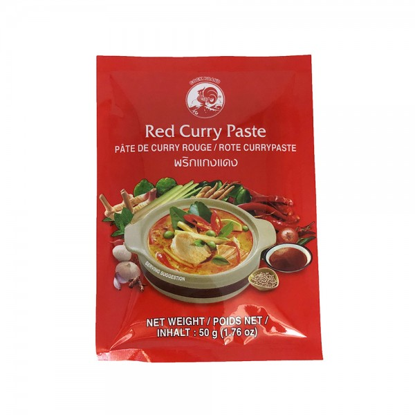 Rote Currypaste Cock