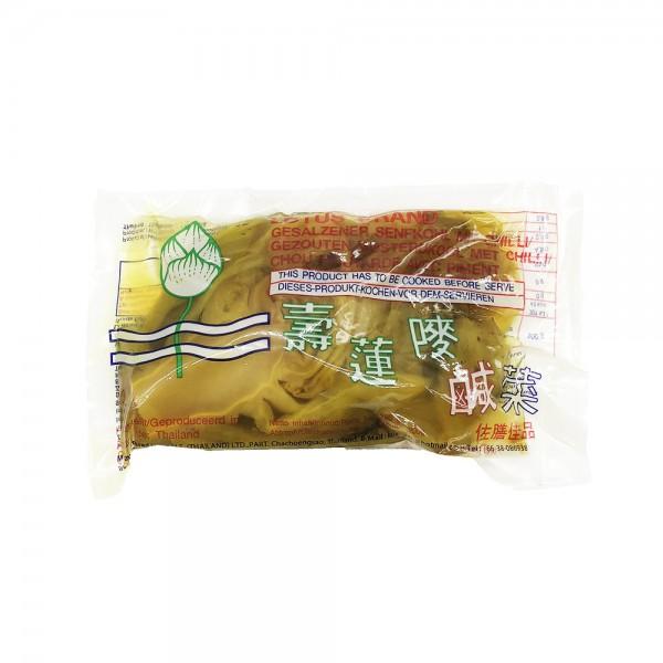 Eingelegter Senfkohl mit Chili Lotus 200g