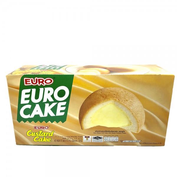 Euro Custard Cake 204g