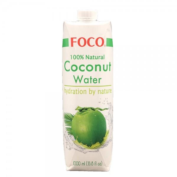 Kokoswasser Foco 1l