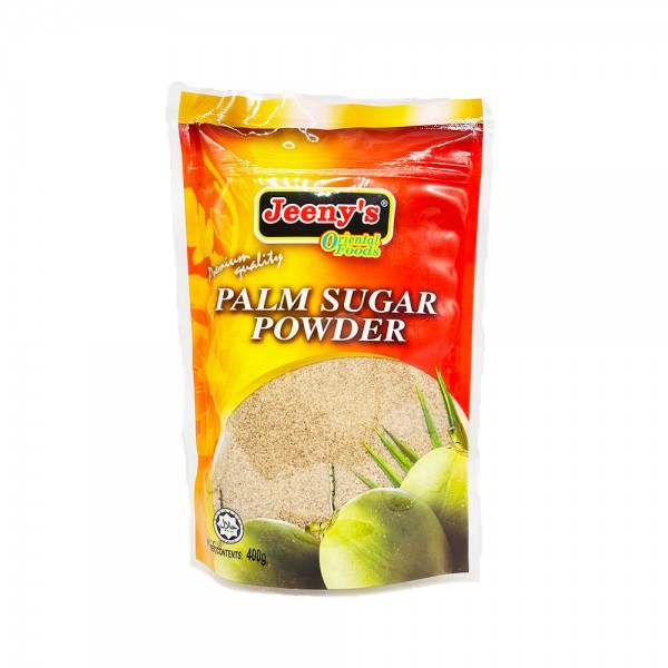 Palmzucker gemahlen Jeeny's Oriental Foods 400g