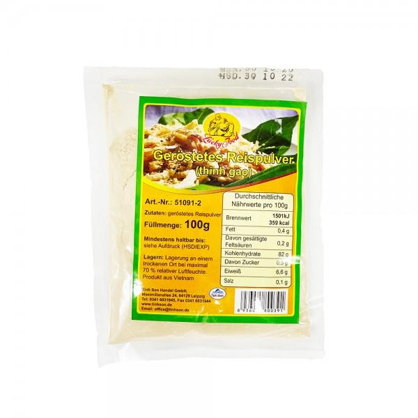 Reispulver geröstet (Thinh Gao) Lucky Food 100g