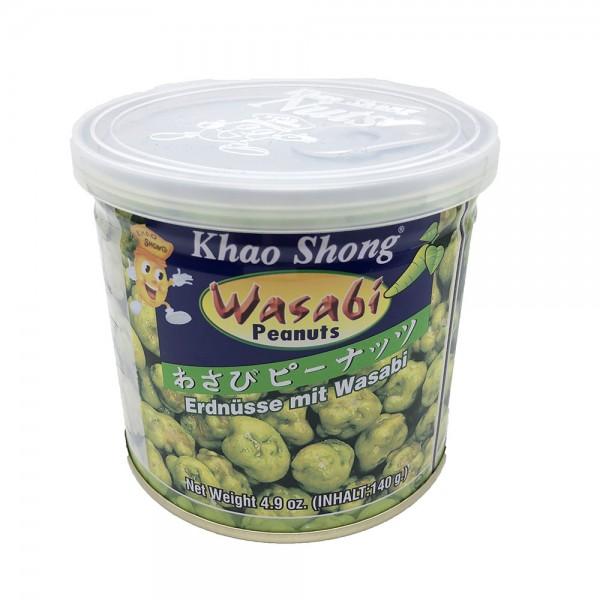 Erdnüsse mit Wasabi Khao Shong