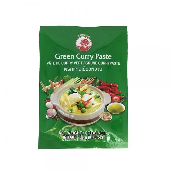 Grüne Currypaste Cock