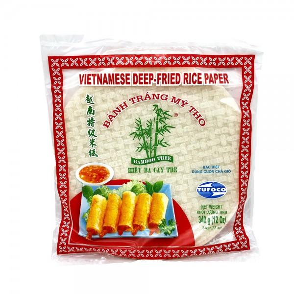 Tufoco Reispapier für Frühlingsrollen 22cm Bamboo Tree 340g