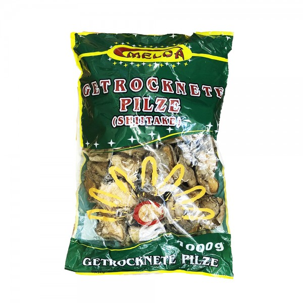 Shiitake Pilze getrocknet Melda 1kg