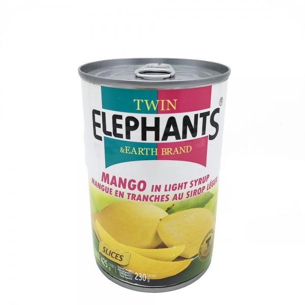 Mango in Sirup Twin Elephants & Earth 230g