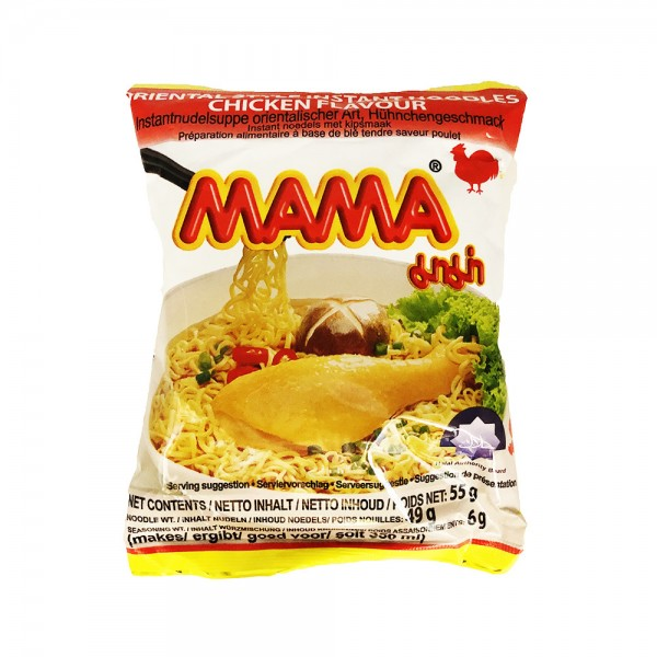 Mama Instant Nudelsuppe Huhn