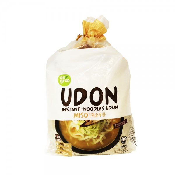 Instant Udon Nudelsuppe Miso All Groo 690g