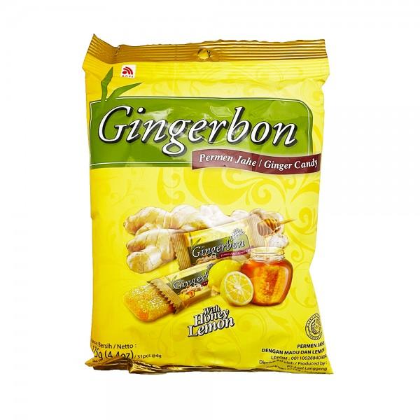 Ingwer Bonbons mit Honig & Zitrone Agel 125g